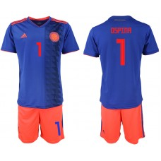 2018 World Cup Men Colombia away 1 soccer jersey