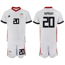 2018 World Cup Men Iran home 20 soccer jersey