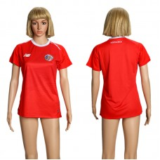 2018 Women World Cup Costa Rica home soccer jersey