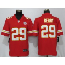 2018 Men New Nike Kansas City Chiefs 29 Berry Red Vapor Untouchable Limited Player