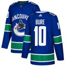 Adidas Men Vancouver Canucks 10 Pavel Bure Blue Home Authentic Stitched NHL Jersey