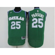 Men Dallas Mavericks 25 Parsons Green Adidas NBA Jerseys
