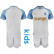 2018_2019 Club Olympique de Marseille home Youth soccer jerseys