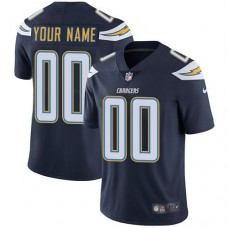 2019 NFL Men Nike Los Angeles Chargers Home Navy Blue Customized Vapor jersey