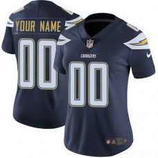 2019 NFL Women Nike Los Angeles Chargers Home Navy Blue Customized Vapor jersey