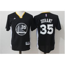 2016 NBA Golden State Warriors 35 Kevin Durant Black Jersey