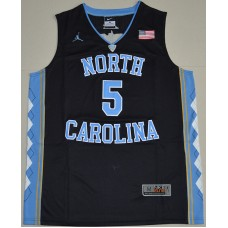 2016 North Carolina Tar Heels Marcus Paige 5 College Basketball Jersey - Black