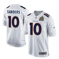 2016 Denver Broncos 10 Sanders White youth jerseys