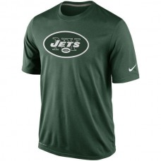 2016 NFL New York Jets Nike Legend Logo Essential 2 Performance T-Shirt - Green
