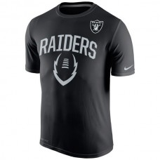 2016 NFL Oakland Raiders Nike Legend Icon Performance T-Shirt - Black