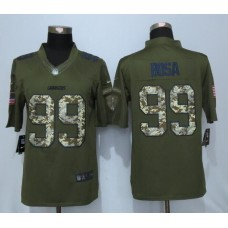 2016 Los Angeles Chargers 99 Bosa Green Salute To Service New Nike Limited Jersey
