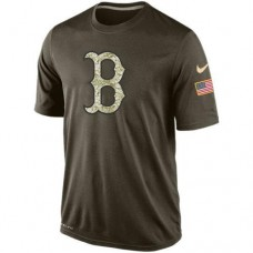 2016 Mens Boston Red Sox Salute To Service Nike Dri-FIT T-Shirt