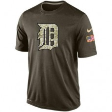 2016 Mens Detroit Tigers Salute To Service Nike Dri-FIT T-Shirt