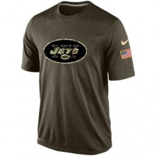 2016 Mens New York Jets Salute To Service Nike Dri-FIT T-Shirt