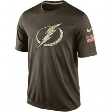 2016 Mens Tampa Bay Lightning Salute To Service Nike Dri-FIT T-Shirt
