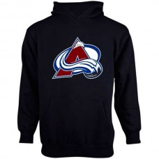 2016 NHL Old Time Hockey Colorado Avalanche Youth Big Logo Fleece Pullover Hoodie - Steel Blue