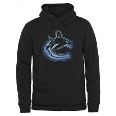 2016 NHL Vancouver Canucks Rinkside Pond Hockey Pullover Hoodie - Black